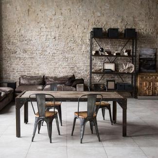 jakie krzesła do stołu industrialnego