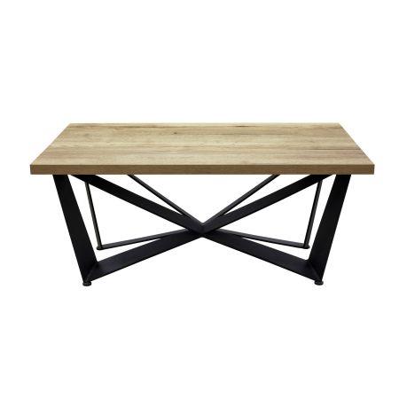 Stół z metalowymi nogami S30